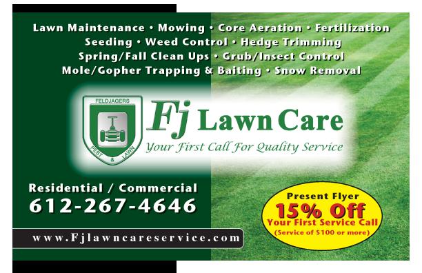 Lawn Care Brooklyn Center Mn Fj Lawn Care